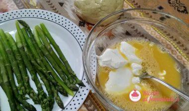 Torta salata di asparagi light 4