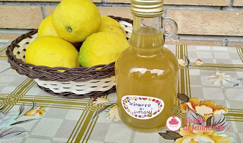 Sciroppo di limoni con il bimby 1