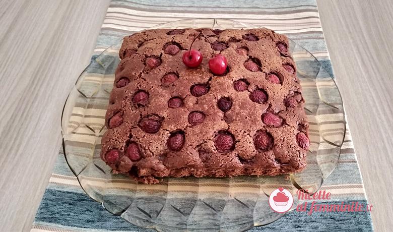 Torta ciliegie e cioccolato con il bimby 9