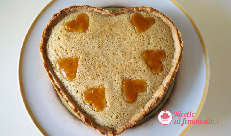 Crostata frangipane con marmellata di albicocche 1