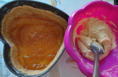 Crostata frangipane con marmellata di albicocche 4