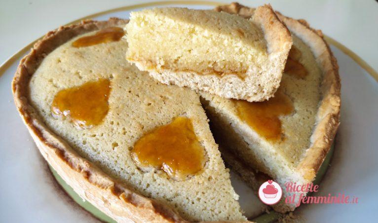 Crostata frangipane con marmellata di albicocche 6