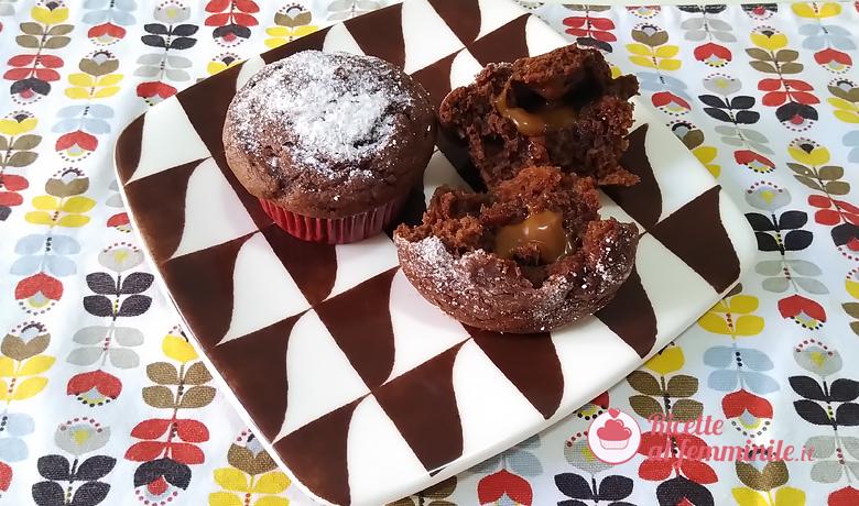 Muffin al cioccolato e crema mou 1