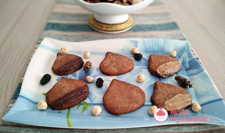 Biscotti con farina di castagne e nocciole vegan e senza glutine 1