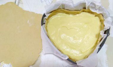 Torta della nonna con crema bimby 4