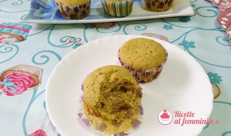 Muffin pistacchio e cocco 4