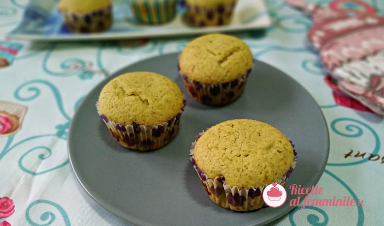 Muffin pistacchio e cocco 1