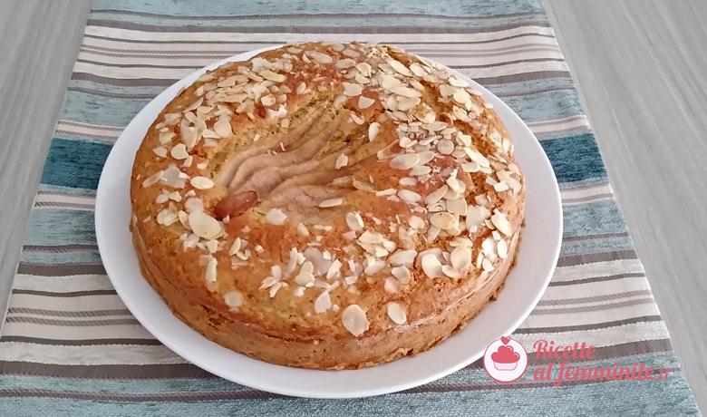 Torta pere e zenzero con farina di mandorle 9