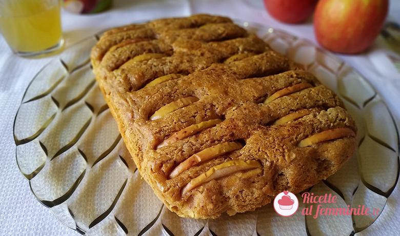 Torte di mele grattugiate con farina di mandorle senza burro 8