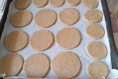 Biscotti digestive con copertura al cioccolato 5