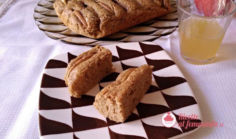 Torte di mele grattugiate con farina di mandorle senza burro 4