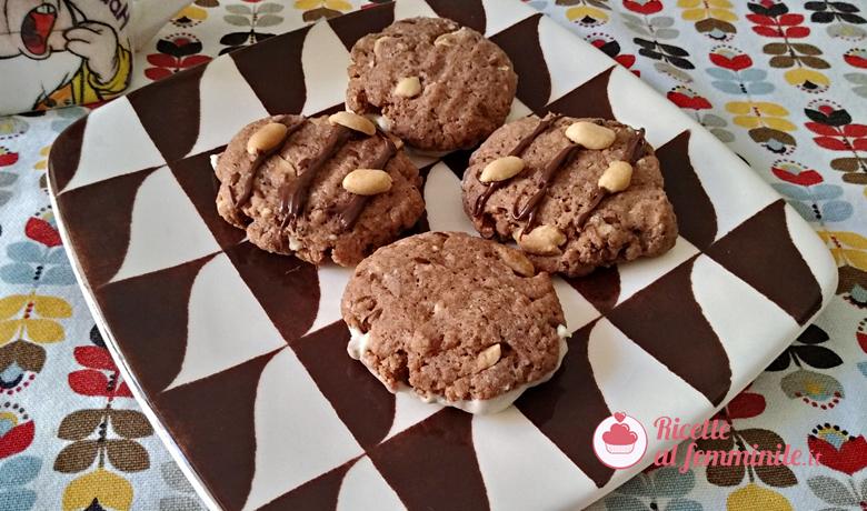 Biscotti con arachidi senza burro 1