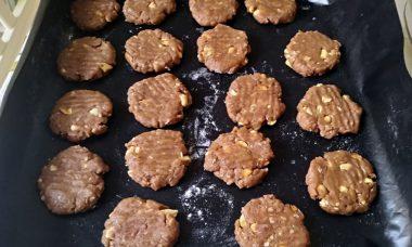 Biscotti con arachidi senza burro 5
