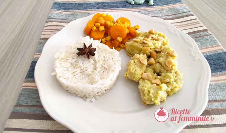 Pollo al latte di cocco e riso pilaf 7